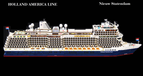 Lego Nieuw Statendam Cruise Ship