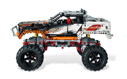 Lego 9398 Crawler Review