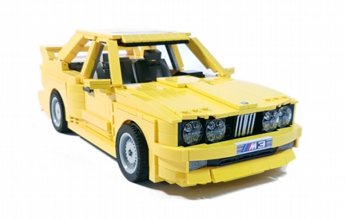 Lego BMW M3 (E30)