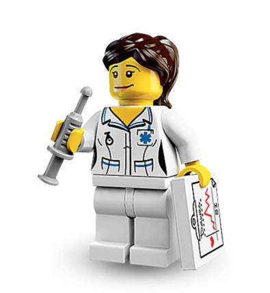 Lego Nurse