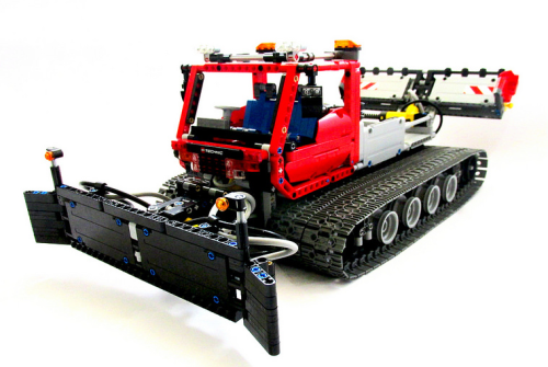 Lego Technic Pneumatics Snow Groomer