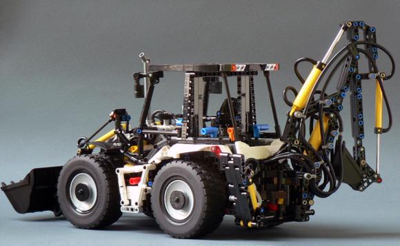 Lego Technic Backhoe
