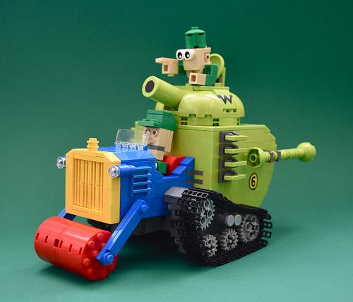 Lego Wacky Races Army Surplus Special