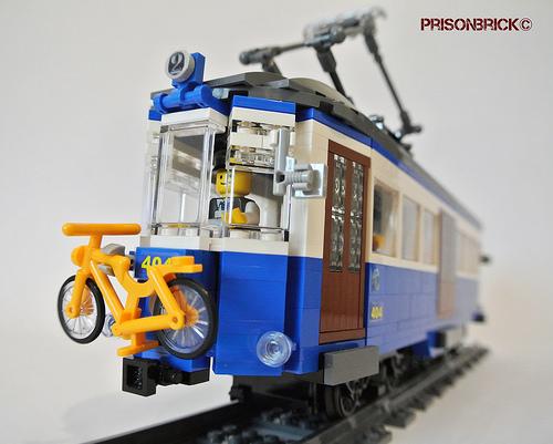 Lego Town Tram