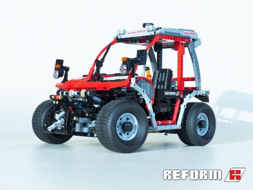 Lego Technic Reform Metrac Mower