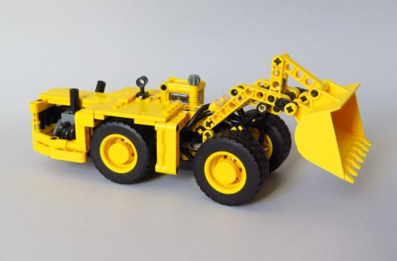 Lego Technic Mining Loader