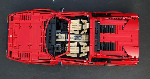 Lego Technic Ferrari 308 GTS