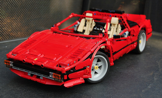 lego technic ferrari 308 gts the lego car blog. Black Bedroom Furniture Sets. Home Design Ideas