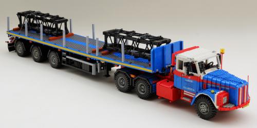 Lego Scania 111 Truck