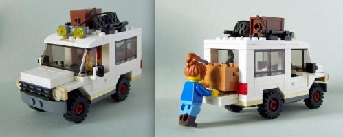 Lego Town 4x4