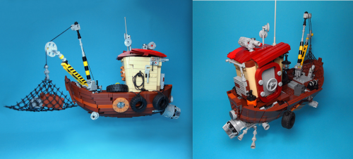 Lego Flying Boat