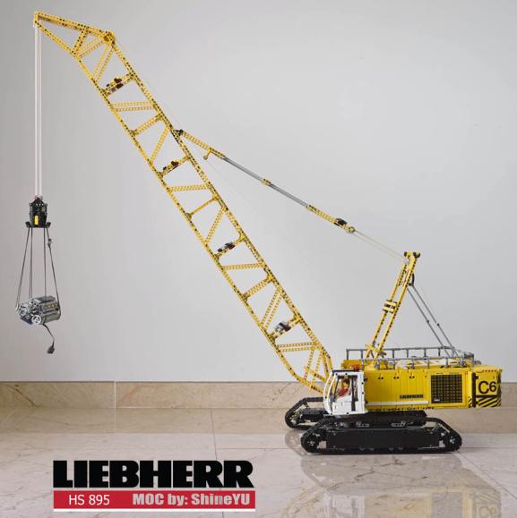 Lego Liebherr HS 895 Crane