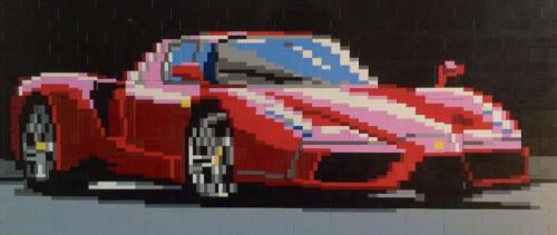 Ferrari Enzo Lego