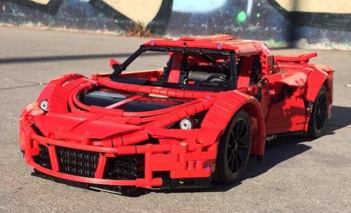 Lego Technic Hennessey Venom GT