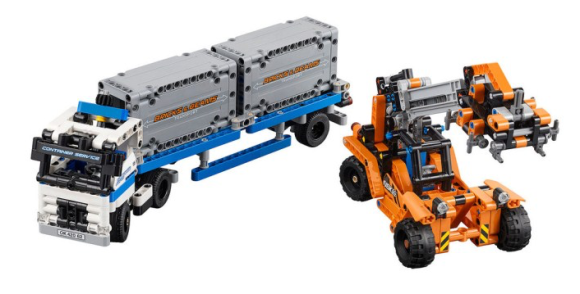 Lego Technic 42062 Container Yard