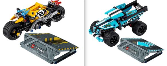 Lego Technic 42058 & 42059