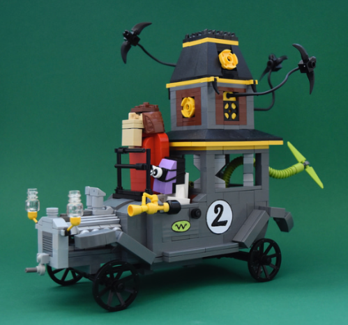 Lego Wacky Races Creepy Coupe