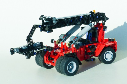 Lego Technic Reach Stacker