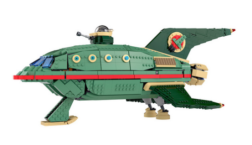 Lego Futurama Planet Express Ship
