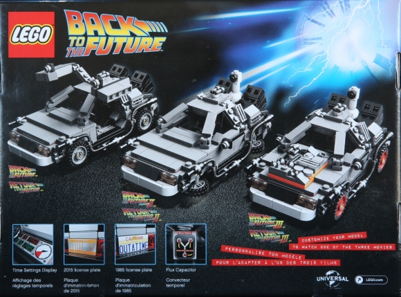 Lego 21103 DeLorean Box