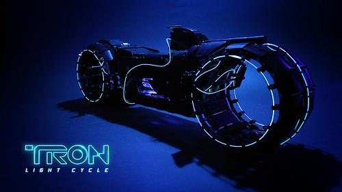 Lego Tron Light Cycle Sariel