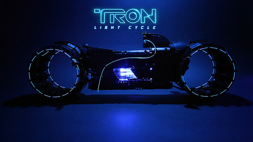 Lego Tron Light Cycle Sariel