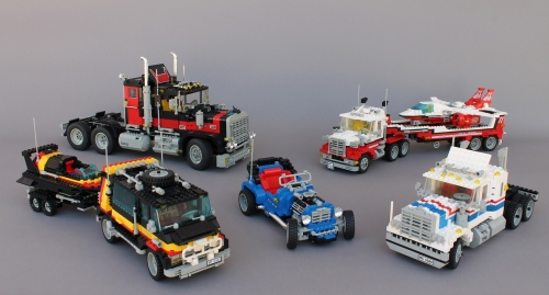 Lego Model Team Range