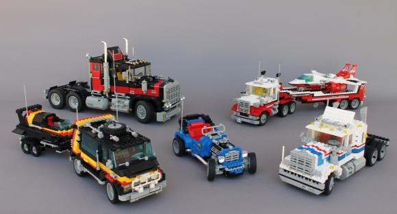 Lego Model Team Range