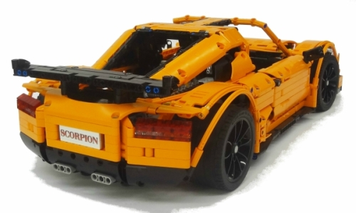 Lego Technic Scorpion Supercar Crowkilers