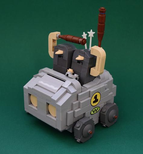 Lego Wacky Races Boulder Mobile
