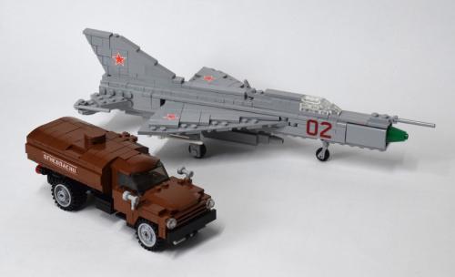 Lego MiG 21