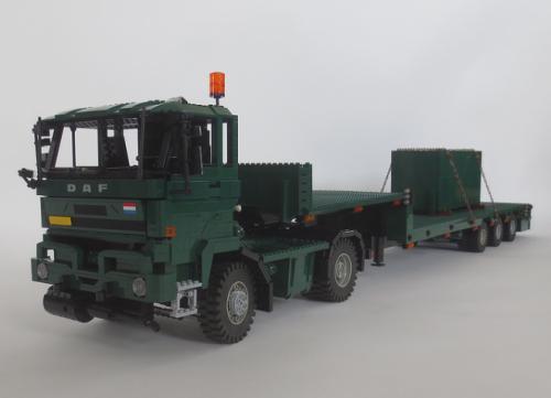 Lego DAF Army Truck