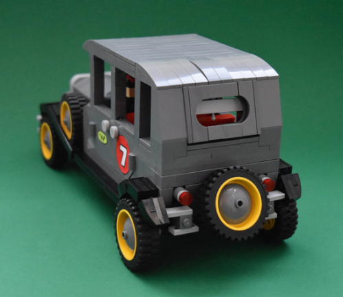 Lego Wacky Races Bullet Proof Bomb
