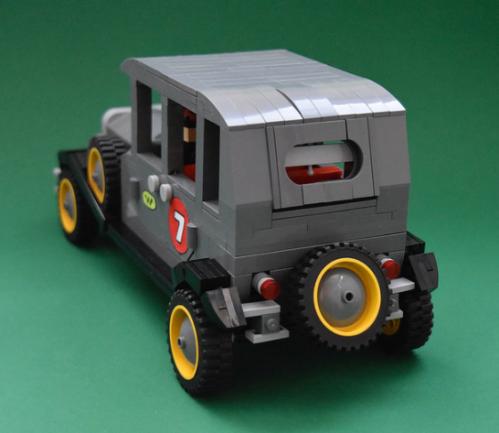 Lego Wacky Races Bullet Proof Bomb