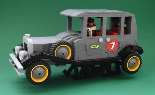 Lego Ant Hill Mob Wacky Races Bullet Proof Bomb