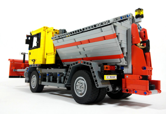 Lego Technic Snow Plough Gritting Truck RC