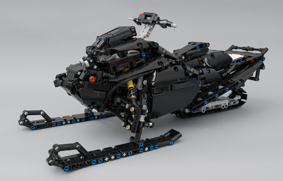 lego technic snowmobile remote control the lego car blog. Black Bedroom Furniture Sets. Home Design Ideas