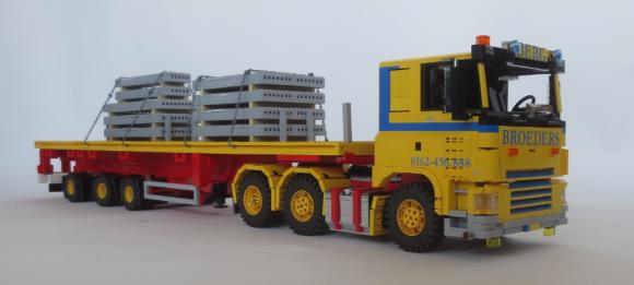 Lego DAF FTG CF 460 Broeders Transport