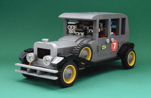 Lego Wacky Races Ant Hill Mob Bullet Proof Bomb