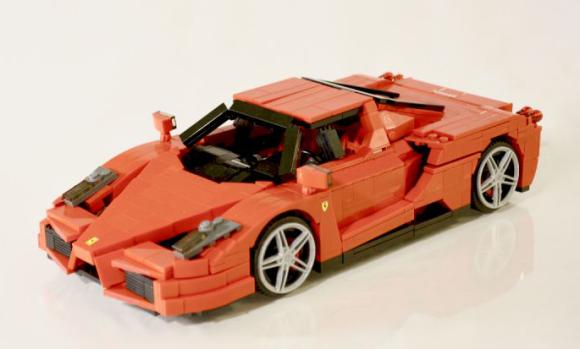 lego ferrari enzo the lego car blog