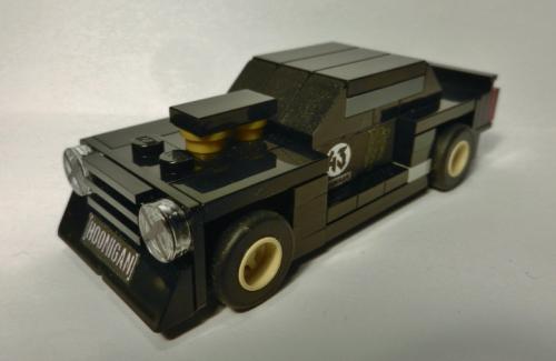 Lego Ken Block Hoonicorn Mustang