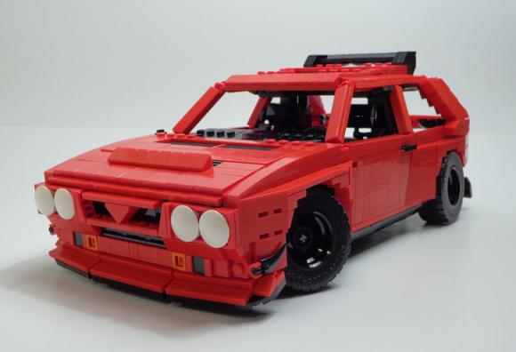 Lego Lancia Delta S4