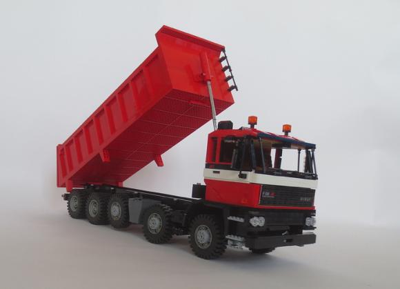 Lego GINAF F530 10X4 truck