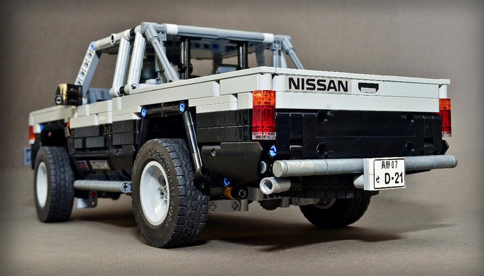 Lego Technic Nissan D21 Hardbody | THE LEGO CAR BLOG