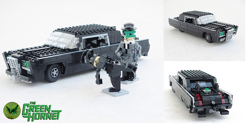 Lego Green Hornet Black Beauty
