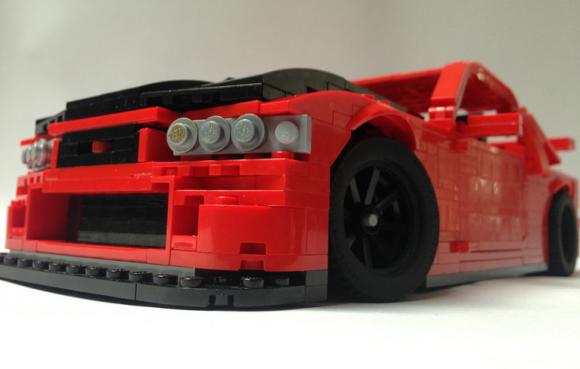 Lego Nissan Skyline GTR