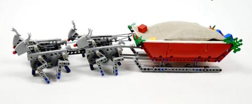 Lego Santa Sleigh Mech