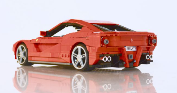 Lego Ferrari F12 Berlinetta