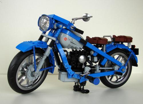 Lego Nimbus Type C Motorcycle