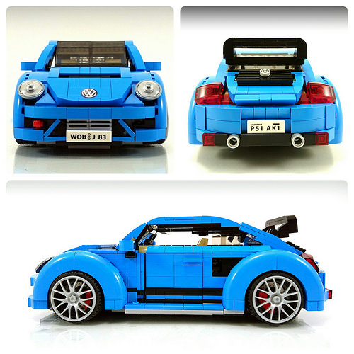 Lego VW New Beetle